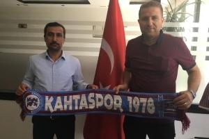 Başkan İşeri'den Kahta 02 Spor'a destek