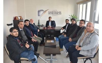 Kahta Gazeteciler ve Yazarlar Cemiyeti kuruldu
