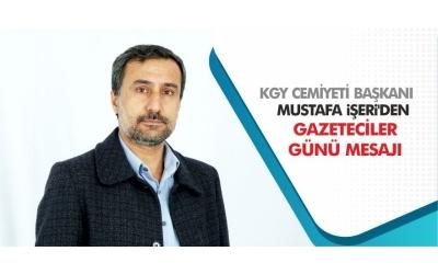 KGY Cemiyeti Başkanı İşeri'den Gazeteciler Günü Mesajı