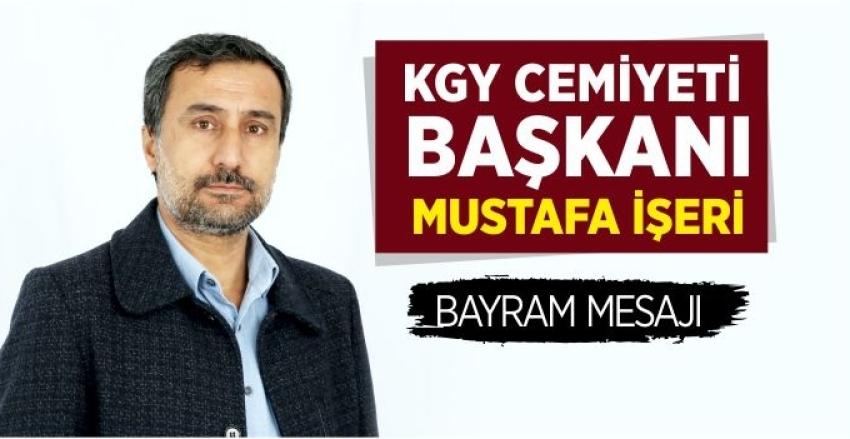 KGY Cemiyeti Başkanı İşeri'den Bayram Mesajı