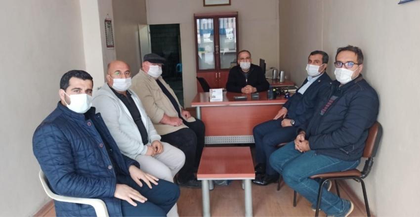 KGY Cemiyetinden DHA Muhabiri Bozkurt'a Hayırlı Olsun Ziyareti