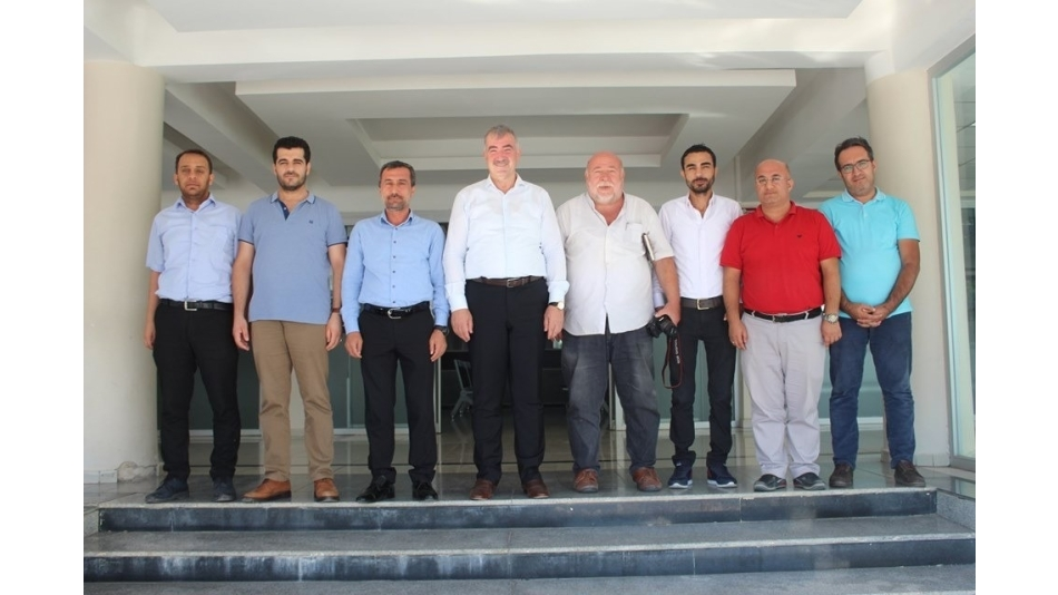 Gazeteciler ve yazarlar Başkan Turanlı ile bir araya geldi